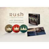 Rush   A Farewell To Kings 40th Anniv [3cd] Lacrado Importad